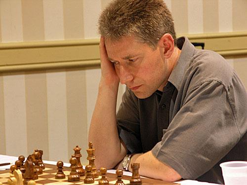 El inglés Michael Adams derrotó a Leinier Domínguez en partidas rápidas. Foto: Chess Data Base
