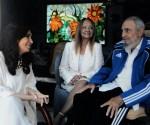 Fidel y Cristina septiembre 20 2015