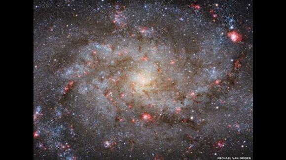 Ganadora de la categoría Galaxias, esta imagen de Michael van Doorn muestra a M33, una de nuestras galaxias vecinas.