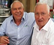 George (izquierda) y Lucian pasaron todas sus vidas separados, hasta ahora. Foto: EPA