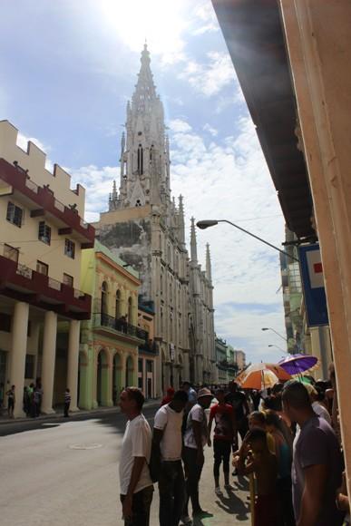La Iglesia de Reina es el templo más alto de Cuba. Foto: José Raúl Concepción / Cubadebate