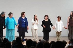 Integrantes de la Asociación Mexicana de Narradores Orales que revivieron algunas de las historias escritas por el reconocido autor