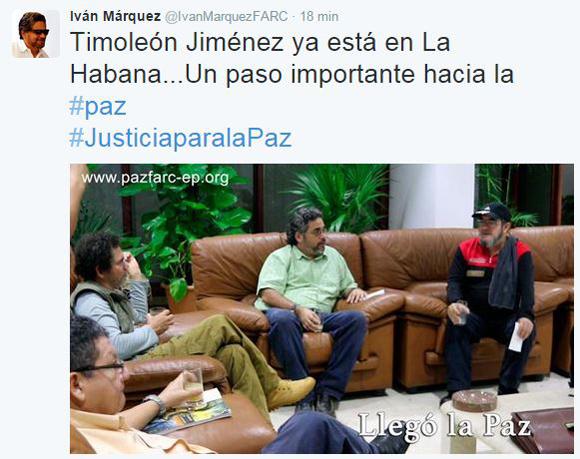 Iván Marquez-Twitter