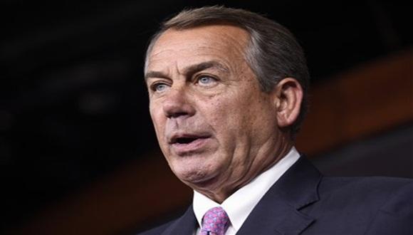 Renunció el presidente de la Cámara de Representantes de EE.UU., el republicano John Boehner.Foto:AFP