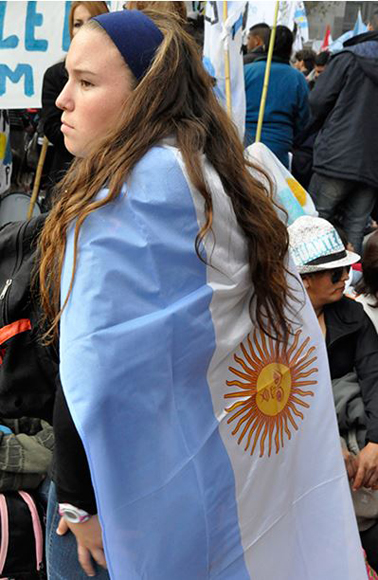 Jovenes argentinos