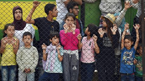 La situación de los migrantes es bien difícil y su futuro confuso. Foto: EFE