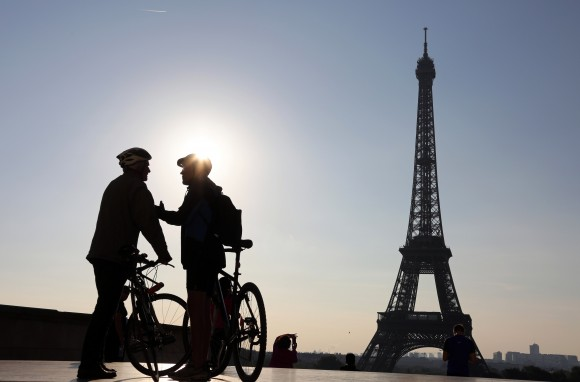 FRANCE-EVNIRONMENT-CAR-FREE-DAY