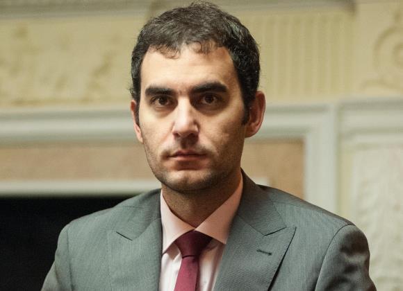 Lenier Domínguez consigue su segunda victoria en partidas clásicas durante el Mundial de Bakú. Foto: Chess Data Base
