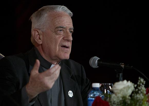 Federico Lombardi en conferencia de prensa en La Habana. Foto: Ladyrene Pérez / Cubadebate
