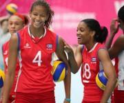 Vargas y Matienzo, capitana de la selección nacional de Cuba. Foto: Tomada de www.granma.cu