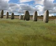Monumento prehistórico similar al Stonehenge. Foto: PA