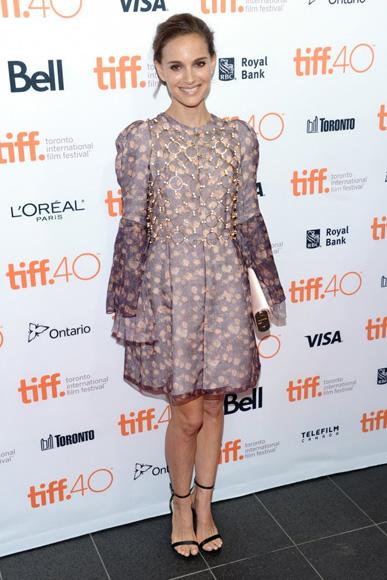 Natali Portman en la inauguración del Festival de Toronto