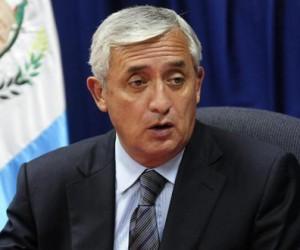Otto Pérez Molina. Foto tomada de gacetamexicana.com