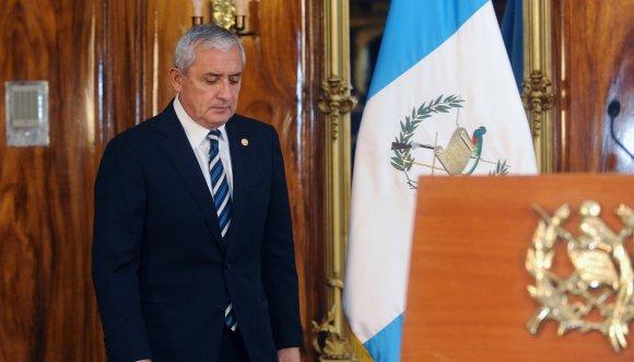Resuelve Congreso guatemalteco retirar inmunidad a presidente Pérez Molina