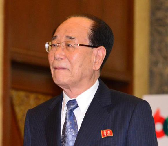 Presidente del Presidium de la Asamblea Popular Suprema de la República Popular Democrática de Corea, Kim Jong Nam. Foto: Tomada de espanol.cntv.cn (Archivo)