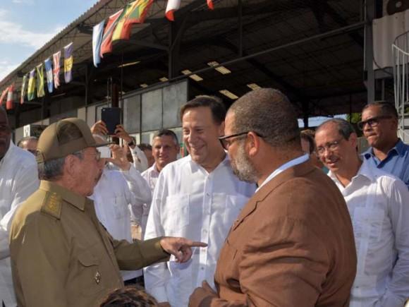 Raúl y Varela en el Kcho Estudio el 11 de septiembre de 2015