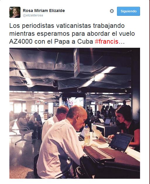 Rosa Miriam periodistas