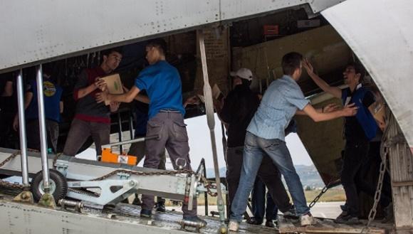 Rusia instala campo de refugiados en Siria. Foto: Sputnik