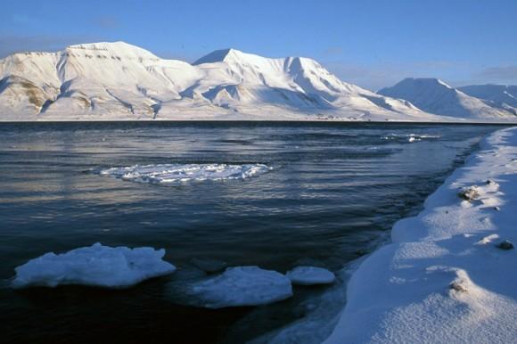 Islas Svalbard, en el Océano Ártico.