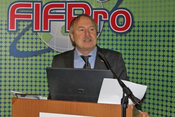 El Secretario General de FIFPro, Theo van Seggelen. Foto tomada de flickr