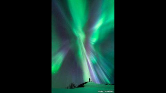 Tommy Eliassen hizo esta foto en Nordland, Noruega