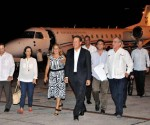 Varela fue recibido por la viceministra de Relaciones Exteriores, Ana Teresita González Fraga. Foto: Jorge Luis González / Granma