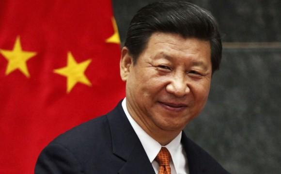 El mandatario chino Xi Jinping recibió al vicepresidente cubano, Salvador Valdés Mesa. Foto tomada de Noti Hoy/ Archivo.