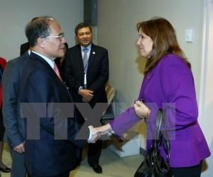 Sostienen diputados cubanos encuentros con varios presidentes de Parlamentos