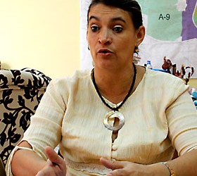 La directora de la Oficina de la Zona Especial, Ana Teresa Igarza. Foto: Jorge Luis Rodríguez Rivera / Bohemia