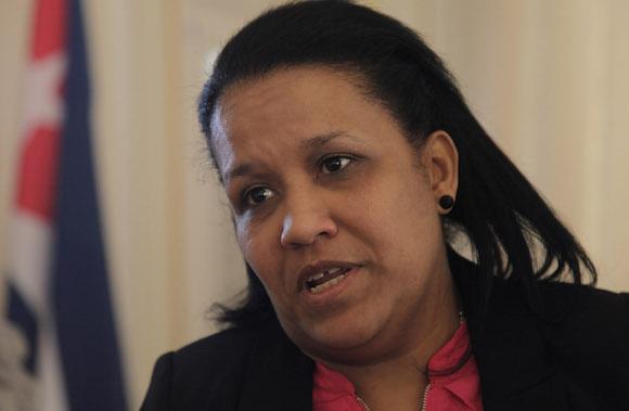 Anayansi Rodriguez Camejo,  Emabajadora de Cuba ante Naciones Unidas en Ginebra. Foto: Ismael Francisco / Cubadebate.