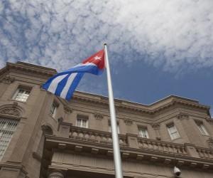 Ceremonia de reapertura de la Embajada de Cuba en Washington, el 20 de julio de 2015. Foto: Ismael Francisco/ Cubadebate
