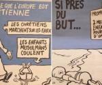 La edición más reciente de 'Charlie Hebdo' acaparó la atención del mundo, y muchas críticas en los medios sociales
