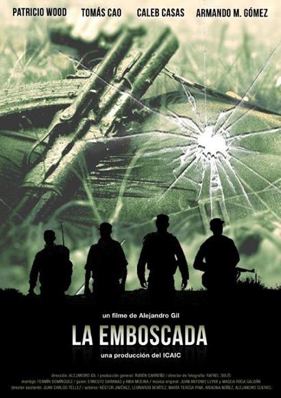 """Cartel de """"La Emboscada""""."""