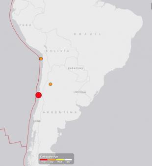 chile sismo