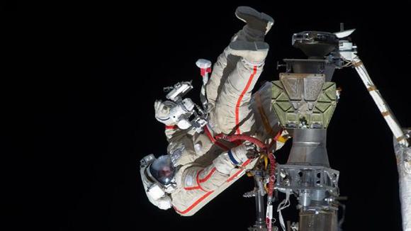 El cosmonauta ruso Guennadi Padalka. Foto: NASA