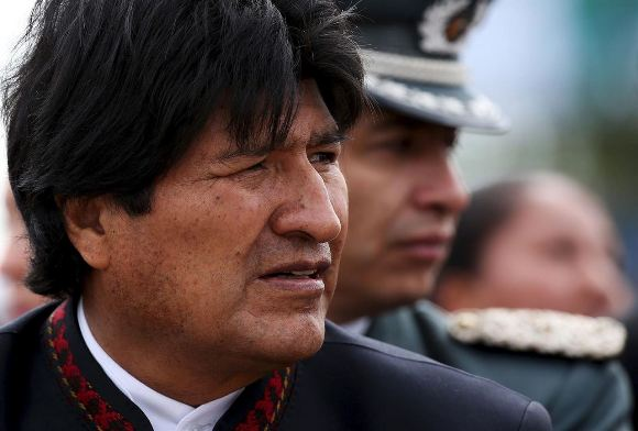 Presidente de Bolivia, Evo Morales Ayma. Foto: Reuters.