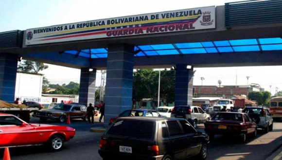 Frontera Colombia-Venezuela. Foto: Tomada de www.telesurtv.net