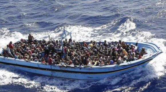 Inmigrantes rumbo a Europa. Foto tomada de republica.com