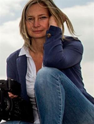 La camarógrafa Petra Laszlo foto de Facebook