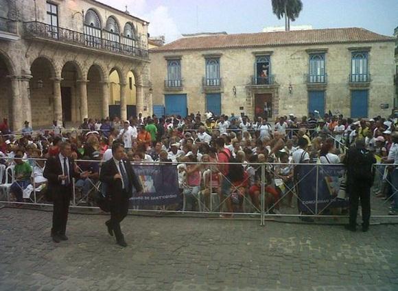 La catedral de La Habana aguarda la llegada del Papa Francisco