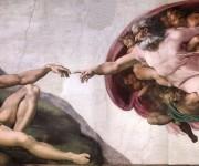 """""""La creación de Adán, fresco de la Capilla Sixtina, de Miguel Angel Buonarroti. Foto tomada de la página oficial de los Museos Vaticanos"""