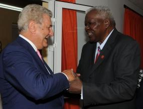 Cuba y España expresan voluntad de fortalecer vínculos parlamentarios. Esteban Lazo