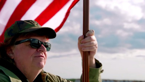Michael Moore presentó en el Festival de Toronto su nuevo documental Where to invade next.