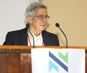 El presidente del comité científico del evento, Doctor Ariel Felipe Gómez.