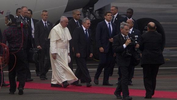 El Papa Francisco es el tercer sumo Pontífice que visita la Isla. Foto: Ladyrene Pérez / Cubadebate.