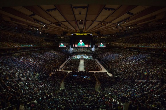 En el Madison Square Garden. Foto: The New York Times