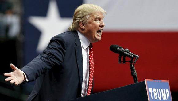 Donald Trump, en un discurso ante seguidores en Dallas, Texas, este lunes. Foto: Reuters