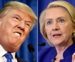 Donal Trump y Hillary Clinton.