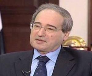 vicecanciller sirio Faisal al-Miqdad