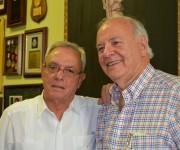 1 Eusebio Leal junto a Emiliano Salcines prominente historiador de Tampa, quien ha realizado importantes estudios sobre la presencia de José Martí en esa ciudad floridana